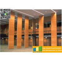 Quality Powder Coated Meeting Room Sound Proof Partitions / Panels With Track System for sale