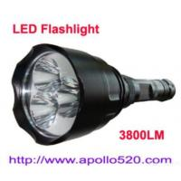 Wholesale 3800lumens Led Flashlight Super Bright from china suppliers