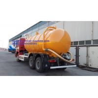 Wholesale Sinotruk Howo7 Transporting Sewage Septic Tank Cleaning Truck / Septic Pumping Truck 17CBM LHD 336HP from china suppliers