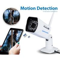 Buy cheap Email ALarm Wireless IP Camera with 4mm fixed Lens , Support Motion Detection from wholesalers