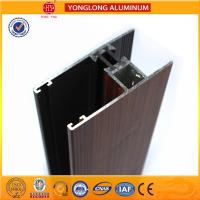 Wholesale Wood Grain Aluminium extrusion Profiles For House Decoration GB5237.4-2008 from china suppliers