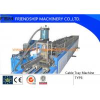Wholesale 6 Tons Manual Cable Tray Roll Forming Machine 22 KW With 24 Forming Stations from china suppliers