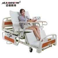 Wholesale Healthcare Back Lift And Leg Rest , Turn Over Electric Home Beds With Toilet from china suppliers