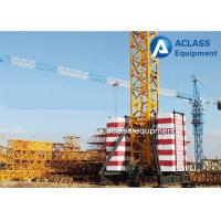 Wholesale TC5010 Mobile Tower Crane 50m Working Jib And Rail Travel Base Type from china suppliers