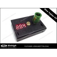 Wholesale Ohm Tester V3 E Cig 0.1Ohm to 9.9 Ohm Reader V3 Black 2 AA Battery Ohm Meter from china suppliers