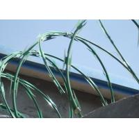 Wholesale ISO9001 Approval BT0 22 Razor Barbed Wire 0.5mm / 0.6mm Blade Thickness from china suppliers