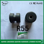 Rubber Excavator R55 Hyundai Engine Mount / Excavator Rubber Parts