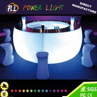 Wholesale Bar Furniture Curved LED Lighting Counter from china suppliers