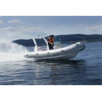 Wholesale Rigid Bottom Inflatable Boat , Inflatable Pontoon Fishing Boats With Motors from china suppliers