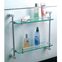 Buy cheap Bathroom accessories brass double luggage carrier & shelves from wholesalers