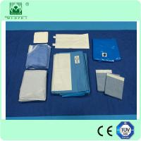 Wholesale Laparoscopy sterile Surgical Drapes sets with Fluid Collection pouch from china suppliers