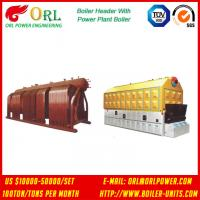 Quality Industry Electrical Water Boiler Power CFB Boiler Header 500MW Rate Factor for sale