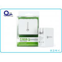 Wholesale Foldable US Plug Qualcomm 3.0 Multi Wall Charger 4 USB Ports Mobile Charger from china suppliers