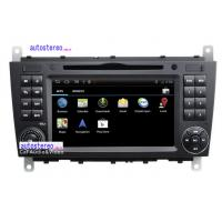 Wholesale Mercedes Benz CLK C-Class Bluetooth Android Car Sat Nav DVD Player Radio 512MB RAM from china suppliers
