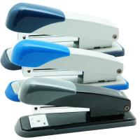 Wholesale 20 Sheet Capacity Desktop Dark Blue Streamlined Productivity Office Stapler from china suppliers