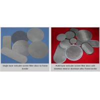 Wholesale Extruder Screen Filter Discs from china suppliers