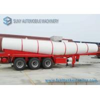Wholesale V Shape Chemical Oil Tank Trailer 3 Axles 20000 L Acid Tank Semi Trailer from china suppliers