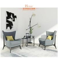 Wholesale American Style Modern Lobby Furniture WIith Wood Frame / Fabric Upholstery from china suppliers