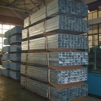 Wholesale High Strength Rectangular Structural Steel Tubing , Custom Galvanized Square Pipe from china suppliers