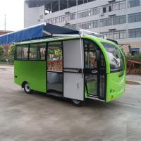 China Metal Mobile Vending Cart / Mobile Bakery Cart Rust Resistant High Security on sale