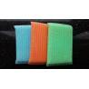 Buy cheap Blue / Green / Orange Scrubbing Sponges By Sponge Fabric / Steel Wire from wholesalers