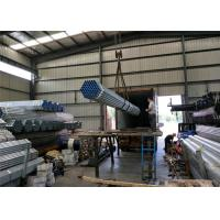 Wholesale PreGi hot Galvanised Steel Tube with thread / fire Round Steel Pipe with cap from china suppliers