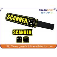 Wholesale Police Use 9v Rechargeable Hand Held Metal Detector For Security Inspection from china suppliers