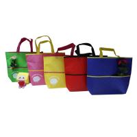 Buy cheap Eco Freindly Recycled Shopping Bags Nonwoven Laminated Fabric Customized from wholesalers