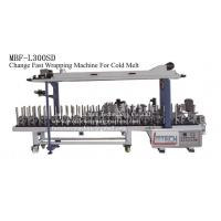 Wholesale MBF-L300SD fast change profile wrapping machine (cold melt) from china suppliers