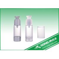 Wholesale Cheap Transparent 15ml PP Plastic Cosmetic Airless Bottle from china suppliers
