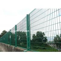 Buy cheap Europe Style Wire Security Metal Fencing Panels For Agriculture / Construction from wholesalers