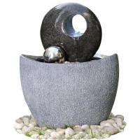 Quality Polished Finishing Contemporary Sphere Garden Fountain With Lights  for sale