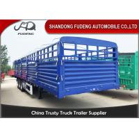 Wholesale 1500mm Height Tri Axle Side Wall Semi Trailer 3mm Pattern Frame Floor from china suppliers