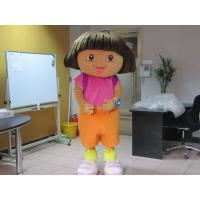 Wholesale Custom Kids Girl Cartoon Character Dora Mascot Costumes  from china suppliers