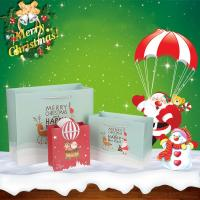 Wholesale Spot Market Wholesale Eco-Friendly Christmas Festival Custom Paper Gift Bag For Packaging from china suppliers