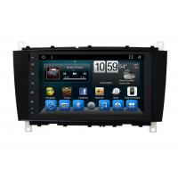 Wholesale Android Mercedes Benz C - Class Double Din Car Dvd Player GPS Navigation Head Unit from china suppliers