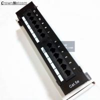 Wholesale RJ45 Ethernet 12Port Patch Panel Cat5e UTP Wall Mount 12Port Patch panel Category 5e Pach Panels from china suppliers