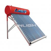 Wholesale 150L Color steel tank with Alunimium support solar energy water heater from china suppliers