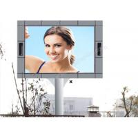 Wholesale 1 / 2 Scan High Luminance P10 Led Screen Outdoor Advertising With Pole Installation from china suppliers