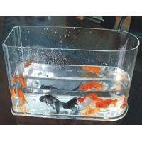Wholesale 5 / 10 Gallon Custom Acrylic Fish Tank With Simple Arch For Home from china suppliers