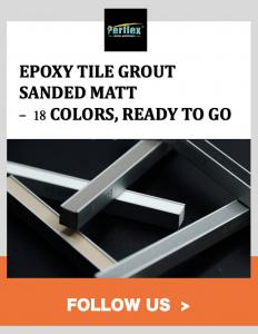China Perflex® Sanded Colored Epoxy Tile Grout Introduction Video- Easy Grouting, Natural Look on sale
