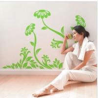 Wholesale Contemporary Cool Reusable Flower Tree Wall Stickers LY-013 from china suppliers