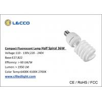 Wholesale 2000LM Compact Fluorescent Light Cfl Bulbs 36W PBT Materials Plastic Cover from china suppliers