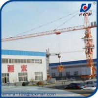 Wholesale TC5010 Mobile Tower Crane 50m Working Booom and Rail Travel Base Type from china suppliers