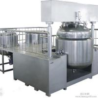 Wholesale 30L Cosmetic Vacuum Emulsifying Mixer With Vacuum Pump , Emulsifying Blender from china suppliers