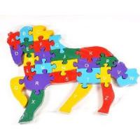 Wholesale 2012  Wooden Jigsaw Puzzle from china suppliers