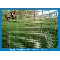 Wholesale Anti Climbing Site Security Fencing , Safety Mesh Fencing For Airport from china suppliers