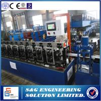 Wholesale Used roller shutter door roll forming machine GCR15 / HRC5 Shaft material from china suppliers