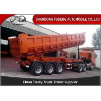 Wholesale Large Volume Rocker Transport Dump Tractor Trailer 40M3 With Hyva Hydraulic Cyclinder from china suppliers