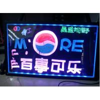 Wholesale LED bottle glorifier display,double stand bottle display,custom bottle acrylic led display from china suppliers